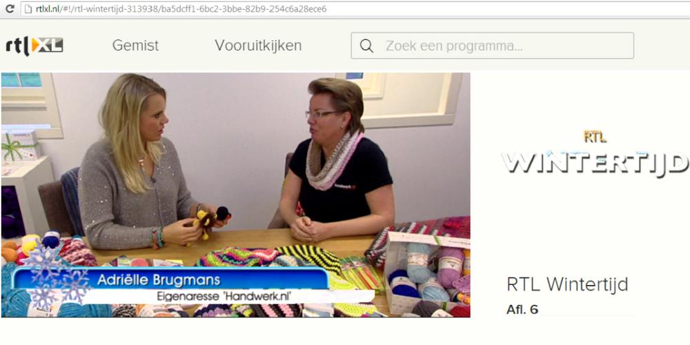 KATUSHKA Handgemaakte SIeraden in samenwerking met Sanne Heijen voor RTL Wintertijd